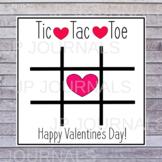 Valentine's Day Tic Tac Toe Game Printable