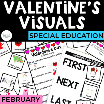 Valentine's Day Toolkit for Special Education (February)