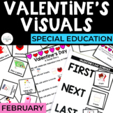 Valentine's Day Visuals for Special Education