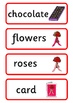 Valentine's Day Topic Word Cards