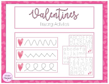 Valentine's Day Tracing Activities