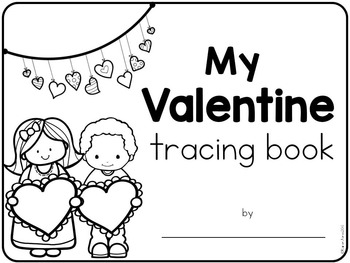 Valentine's Day Tracing Book