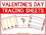 Valentine's Day Tracing Sheets