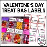 Valentine's Day Treat Bag Labels