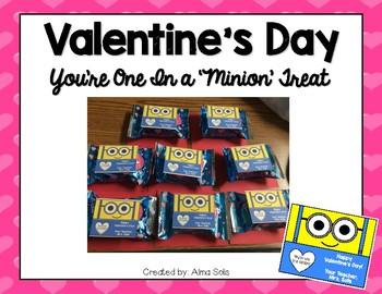 Valentine's Day Treat Labels