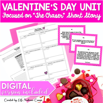 Valentine's Day Unit & Activities for High School