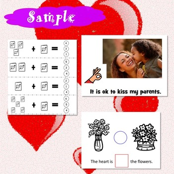 Valentine's Day Unit for Special Education