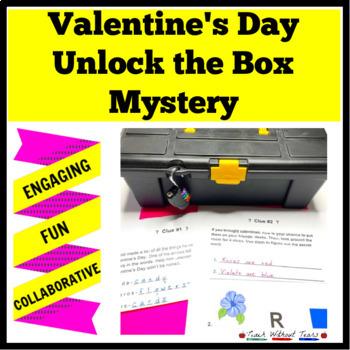 Valentine's Day Unlock the Box: A Fun Math Mystery