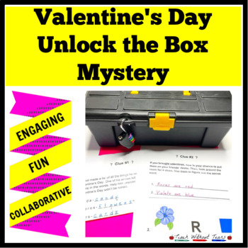 Valentine's Day Unlock the Box: A Fun Math Mystery
