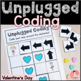 Valentine's Day Unplugged Coding Activity for Beginners (E