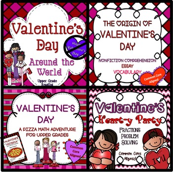 Valentine's Day MEGA Box - TWO DAYS OF ACTIVITIES! Upper Grade Bundle