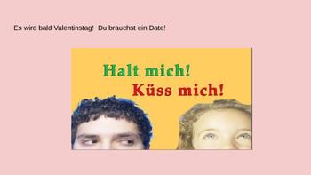 Valentine's Day Valentinstag German Activity