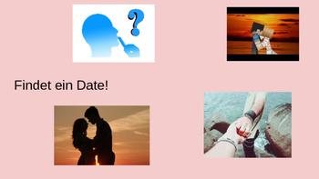 (VALENTINES GERMAN STUDIES) Valentine's Day Valentinstag German Activity