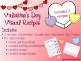 Valentine's Day Visual Recipes - 2 recipes included!