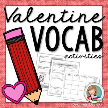 Valentine's Day Vocab Freebie
