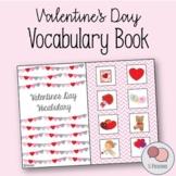 Valentine's Day Vocabulary Book | Speech Language Therapy