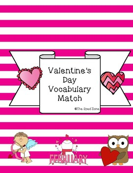 Valentine's Day Vocabulary File Folder