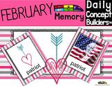 Valentine's  Day Vocabulary Memory Game