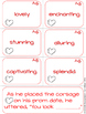 Valentine's Day Vocabulary {Shades of Meaning Synonym Sort