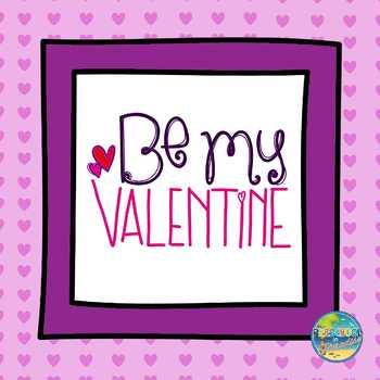 Valentine's Day Vocabulary Word Cards