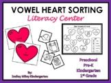 Valentine's Day Vowel Heart Sorting