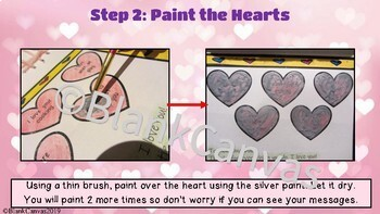 Valentine's Day Weaving Heart and Scratch Card Art Activity