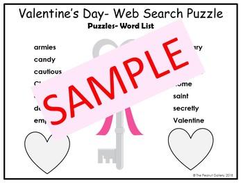 Valentine's Day Web Search Puzzle
