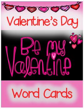 Word Cards: Valentine's Day