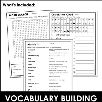 Valentine's Day Word Scramble Worksheet {Freebie} How many words can ...
