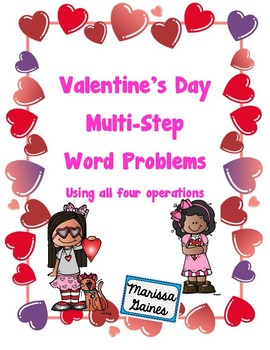 Valentine's Day Word Problems