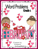 Valentine's Day Word Problems Grade 1 Task Cards Early Finishers Centers
