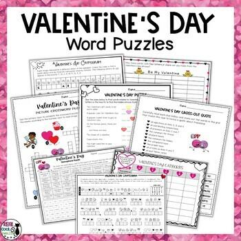 Valentine's Day Word Puzzles