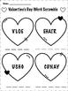 Valentine's Day Word Scramble