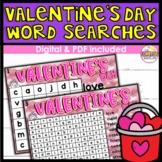 Valentine's Day Word Search DIGITAL
