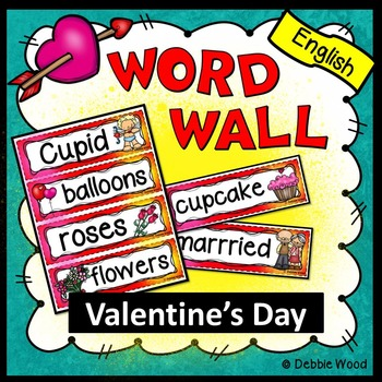 Valentine's Day (February) Word Wall