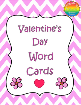 Valentine's Day Word Cards