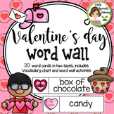 Valentine's Day Word Wall (includes word list and word wor