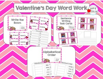 Valentine's Day Word Work