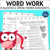 Valentine's Day Word Work