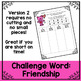 Valentine's Day Word Work and Literacy Center Activity