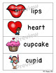 Valentine's Day Word and Picture Cards