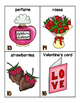 Valentine's Day Words for writing center and write-the-room