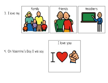 Valentine's Day Worksheet (enlarged)