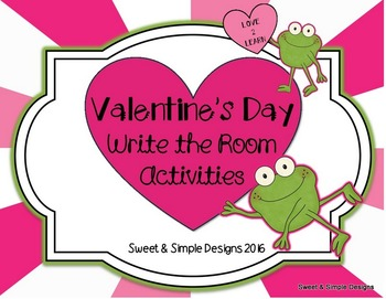 Valentine's Day Write the Room