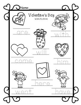 Write the Room-Valentine's Day