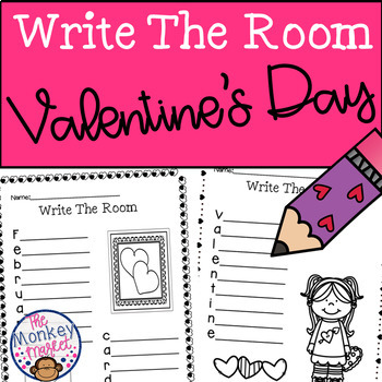 Valentine's Day Activity - Writing Station
