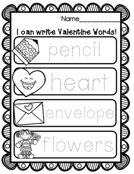Valentine's Day Write the Room {Differentiated Writing activities}