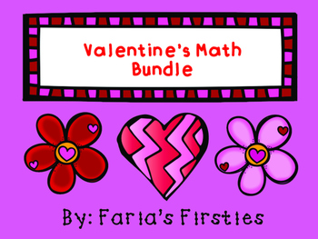 Valentine's Day Write the Room Math BUNDLE!