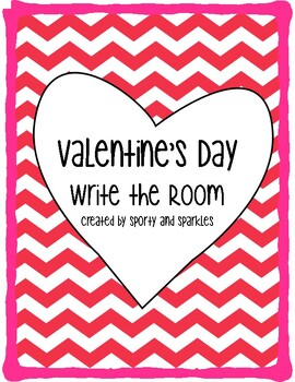 Valentine's Day Write the Room: NEW!!!