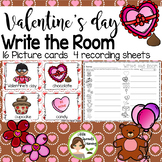 Valentine's Day Write the Room (in color and black/white)
